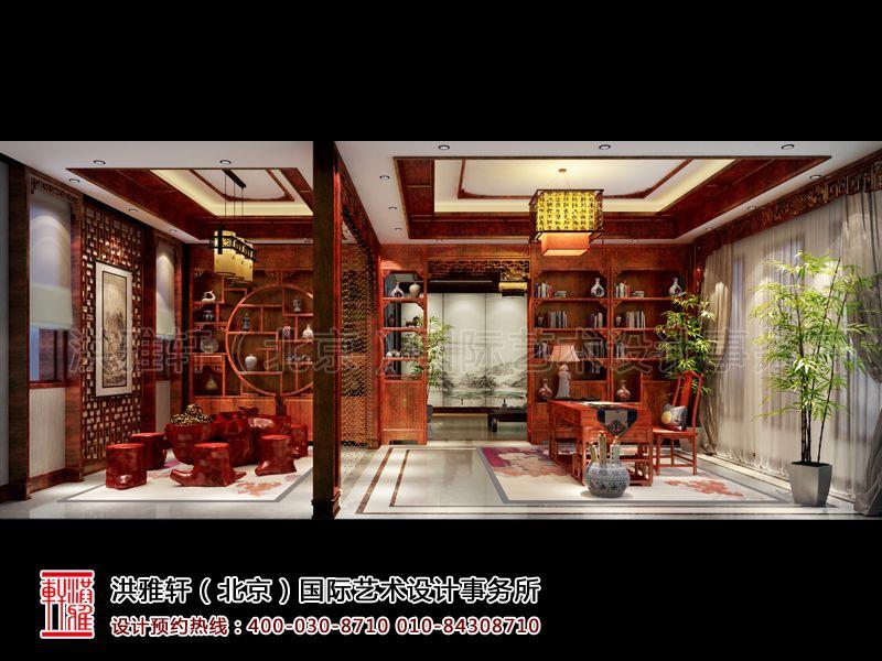 藏品室古典中式装修设计效果图片