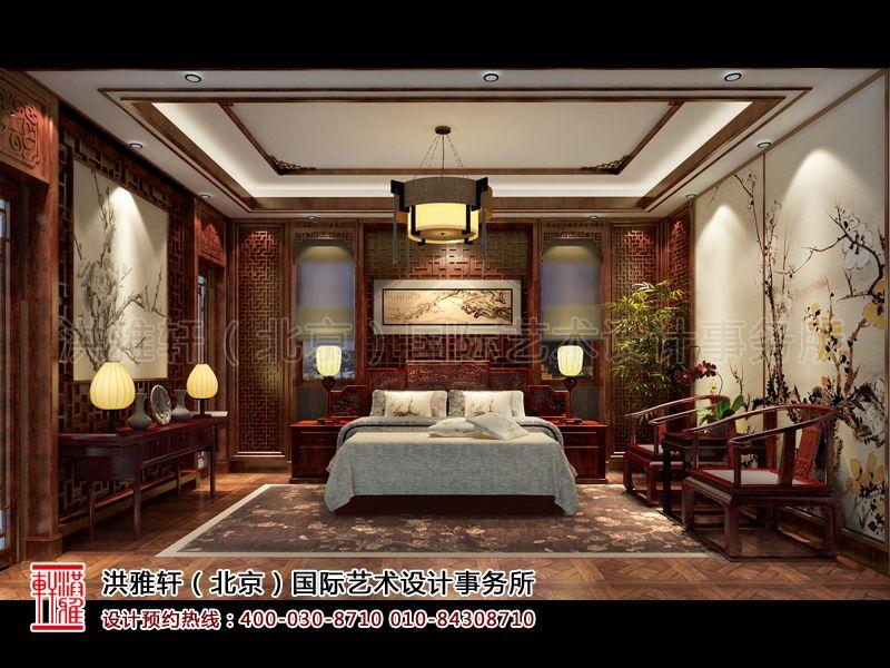 卧室古典中式装修设计效果图片