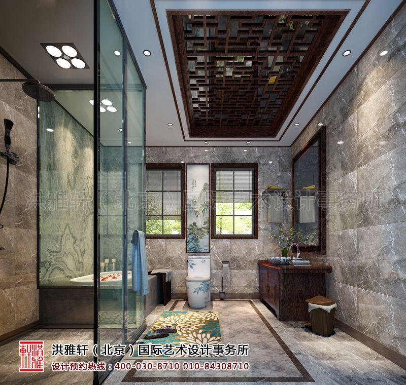 卫生间古典中式装修设计效果图片