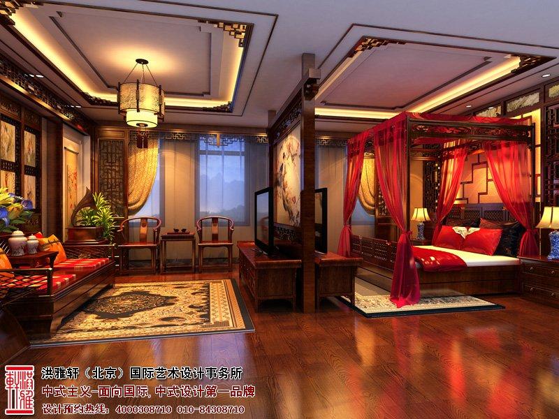卧室中式装修内最适合摆设哪些植物