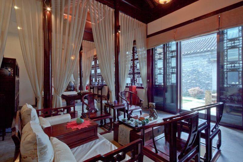 中式宾馆装修设计效果图