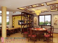 复式楼客厅餐厅装修效果图