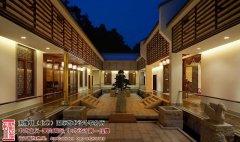 中式庭院装修设计效果图大全