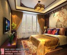 2014卧室床头背景墙设计