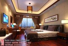 中式风格卧室飘窗装修效果图欣赏