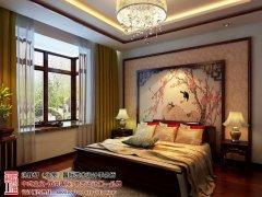 中式古典卧室飘窗装修效果图大全