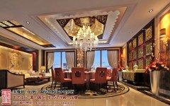 酒店中式装修风格餐厅设计