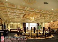 中式酒店室内设计实景图片