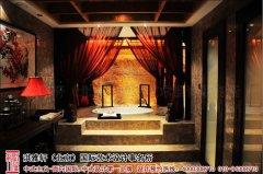 中式浴室装修设计图片