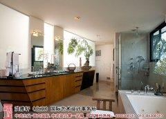 家庭浴室装修效果图