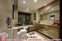 中式浴室装修效果图欣赏