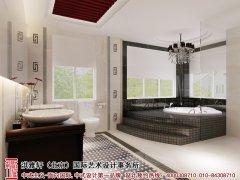 新中式浴室装修效果图