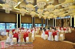 苏州中式酒店宴会厅设计效果图
