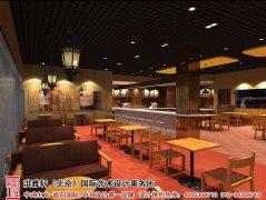中式快餐店装修图片
