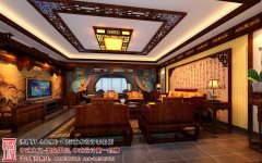 现代中式风格家居装修图片