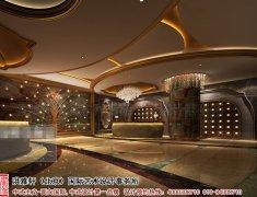 新中式酒店大厅设计效果图