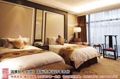 新中式酒店客房设计图片欣赏