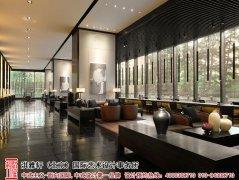 中式酒店装修设计图欣赏