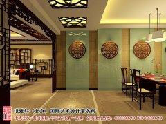 中式酒店餐厅效果图