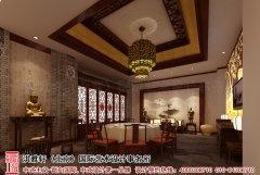 古典中式酒店餐厅装修效果图
