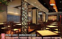 古典新中式餐饮空间装修效果图