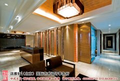 中式现代风格售楼部效果图