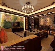 古典中式客厅电视墙装修效果图片