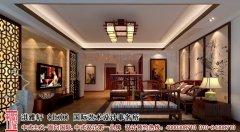 中式吊顶时尚家居家装设计效果图