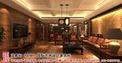 古典中式客厅吊顶效果图大全