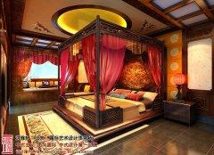 古典主卧室装修飘窗效果图
