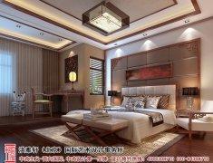 简约中式风格房间设计图