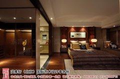 中式风格卧室房间设计效果图