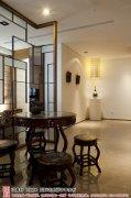 新中式风格茶室效果图欣赏