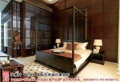 卧室中式装修对床单颜色选择特别讲究
