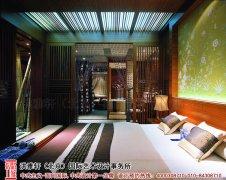 主卧室中式设计实景图