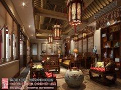 别墅中式装修上色彩布置影响人们的心情