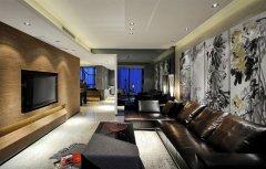 现代风格别墅客厅装修设计图