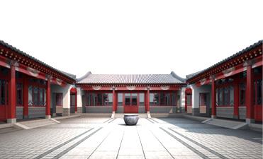 徽派建筑中式设计效果图,精雕细琢臻致完美点击查看 > > 四合院