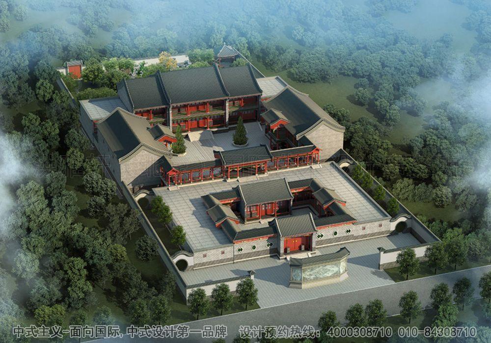 含万楼楼主 四合院  蟹岛古典中式四合院 项目类型:四合院别墅 项目图片